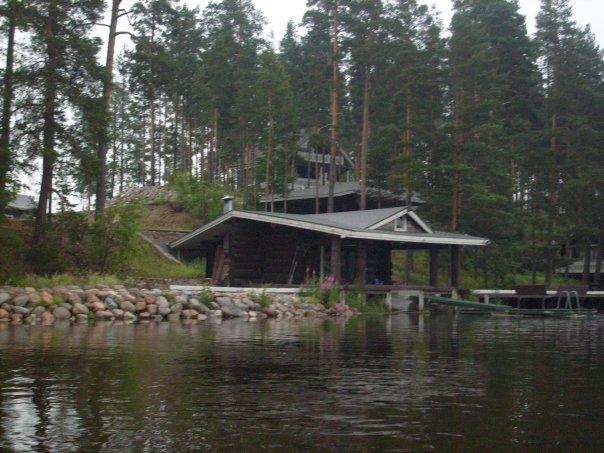 купить дом на берегу озера спб